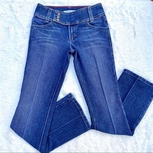 TOMMY HILFIGER 70's Style Creased Hipster Bootcut